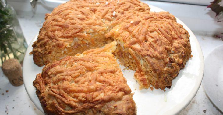 Hot Bacon Cake