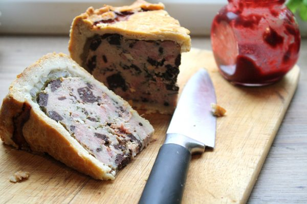 Pork Pie with Black Pudding