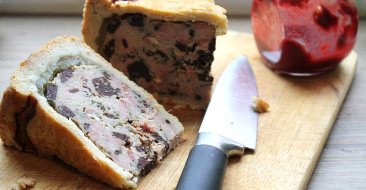 Pork Pie with Black Pudding
