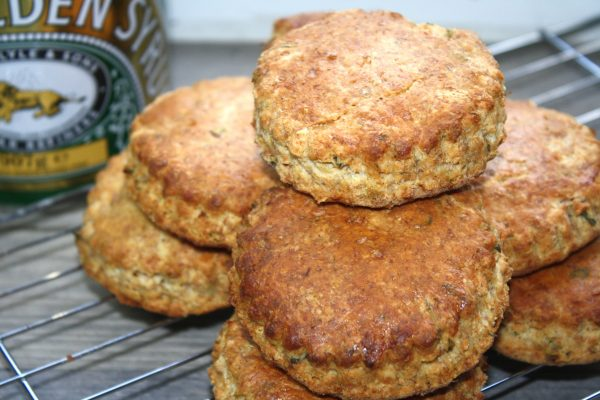 Herby Wholemeal Scones